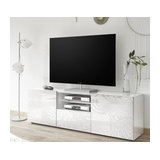 Miro (white) 2 door 1 drawer TV unit