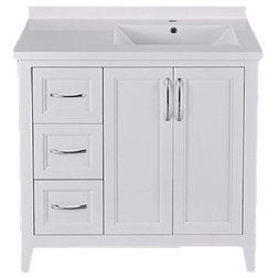 Perfect Transitional Bathroom Vanities And Sink Consoles by Winslyn Industries