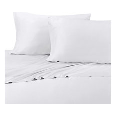 royal tradition 100 bamboo viscose sheets silky soft 300 sheet sets white - Royal Velvet Sheets