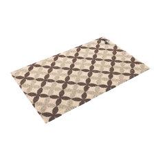 Troy Doormat, Beige and Brown