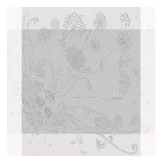 "Souffle Tablecloth, Gris, 45""x45"""