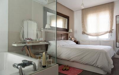 Parecidos razonables: 2 baños modernos abiertos al dormitorio