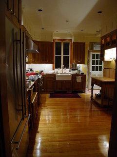 Recessed Lights In Kitchen Black Or White Baffle Trim