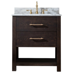 Transitional Bathroom Vanities And Sink Consoles by Sterling Rivers