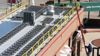 Busch Stadium - Solar Panels