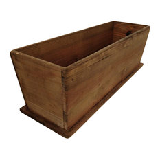 Newport Rectangular Tapered Wooden Planter