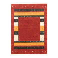 "Loom Gabbeh Lori Rug Oriental Carpet 8'1""x5'9"", India Hand-knotted Modern"