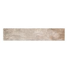 "Willow Kilauea 8""x40"" Wood Look Porcelain Tile, Set of 6"