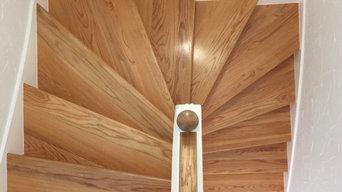 Innenausbau Treppenhaus (amerikanische Bauweise)