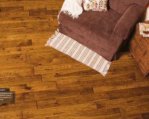 Hallmark Hardwood Flooring Heirloom Hickory Buckskin - Hardwood Flooring - Hallmark Floors