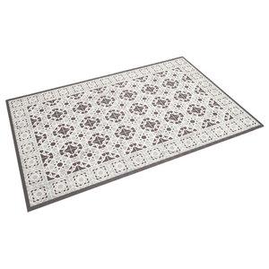 Tracy Indoor/Outdoor Rug, Mint and Grey, 65x100 cm
