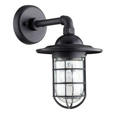 Bowery 1 Light Wall Sconce in Noir