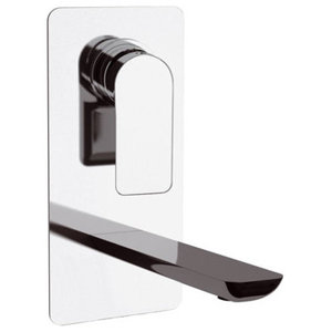 Infinity Chrome Plated Built-In Wash Basin Mixer Tap, Vertical