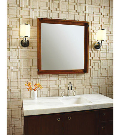 Contemporary Tile Ann Sacks Recycled Ceramic Tile, Koi