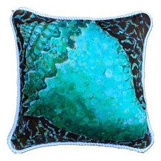 "Conch Shell Pillow, 20"""