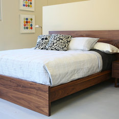 find scandinavian bed frames on houzz
