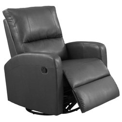 Contemporary Recliner Chairs by GwG Outlet