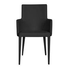 Safavieh Summerset Arm Chair, Black
