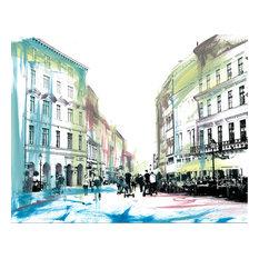 """Krakow"" Signed Limited Edition Artwork, 35x40 cm"