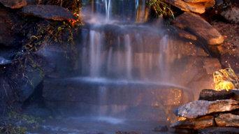 Ridgefiield CT Waterfall