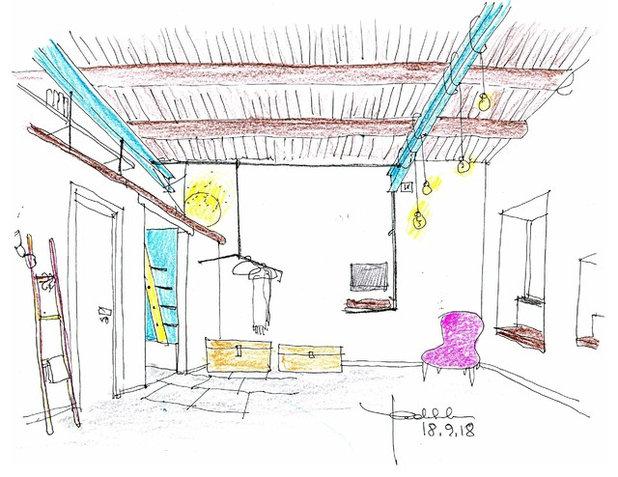 Industriale Prospetto interno by Paola Sola architetto &interior design