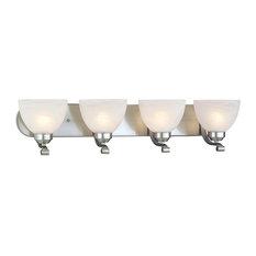 Minka-Lavery 5424-84 4 Light Bath Paradox Brushed Nickel