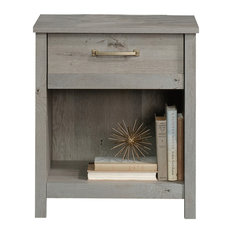 Sauder - Cannery Bridge Night Stand, Mystic Oak - Nightstands and Bedside Tables