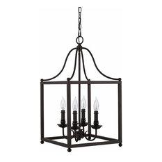 Lantern Cage 4-Light Pendant