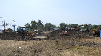 Construction Site Development Services Erie | Parking Lot Paving