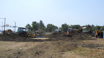 Construction Site Development Services Erie | Parking Lot Paving