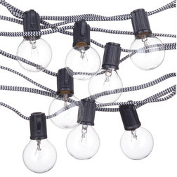 Contemporary Outdoor Rope And String Lights by Globe Electric