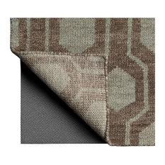 "Oriental Weavers LuxeHold Gray 0005E Rug Pad, Rectangular 7'8""x10'8"""