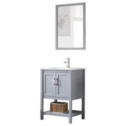 Transitional Bathroom Vanities And Sink Consoles by Bathroom Town