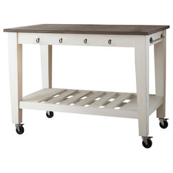 Farmhouse Kitchen Islands And Kitchen Carts by Steve Silver