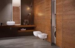Boiserie Moderne Bagno : Che tipo di boiserie nel bagno