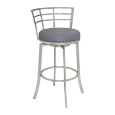 MOD - Maricopa Upholstered Bar Stool, Gray - Bar Stools and Counter Stools