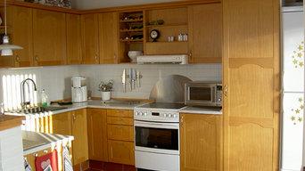 Køkken - Førbilleder