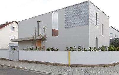 Architektur: Ein Eckhaus grenzt sich ab