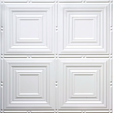 global specialty products 245x485 marion tin style ceiling tile - White Ceiling Tiles