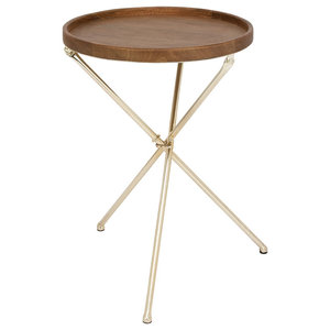 Brilliant Diamond Sofa Reed Round Accent Table With White Marble Top Caraccident5 Cool Chair Designs And Ideas Caraccident5Info