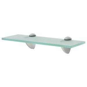 VidaXL Floating Shelf, 8 mm, Clear, 30x10 cm