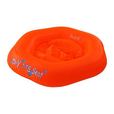 """29"""" Swirl on Red Children's Inflatable Pool Baby Seat Float"""