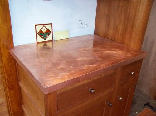 I Did It Diy Copper Countertops