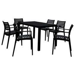 Transitional Outdoor Dining Sets by Compamia