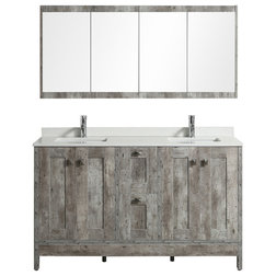 Farmhouse Bathroom Vanities And Sink Consoles by Aquamoon