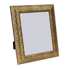 "Ravenna Frame, Gold And Wavy Pattern, 8""x10"""
