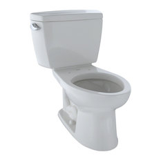 Toto Drake Elongated 1.6 GPF ADA Compliant Toilet, Colonial White