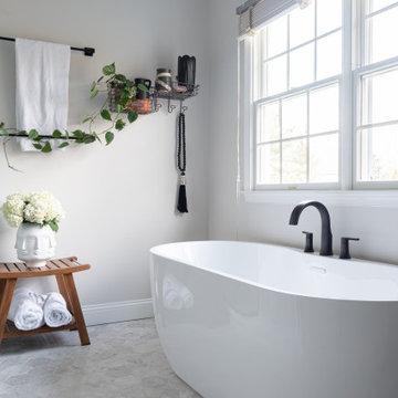 Airy Modern Kitchen + Master Bath Transformation