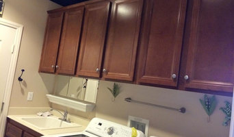 Painted Cabinets - Before/After