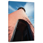 """Pi Photography and Fine Art - Jupiter Lighthouse Against Sky Photo Fine Art Canvas Wall Art Prints, 24"""" X 36"""" - Jupiter Lighthouse Against Sky Landscape Photograph Signed, Limited Edition Fine Art Canvas Prints"""